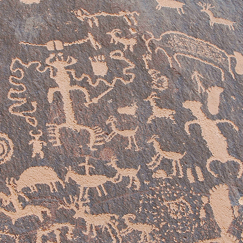 Newspaper Rock Petroglyph photo taken by Southwest Discovered