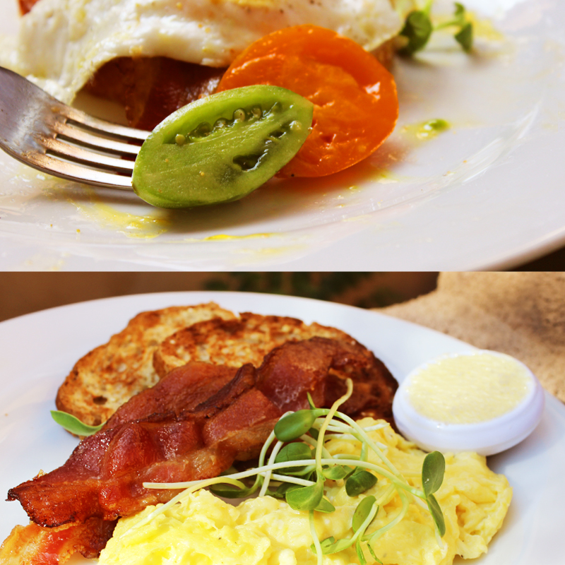 Los Poblanos , Albuquerque farm fresh breakfast taken by Southwest Discovered