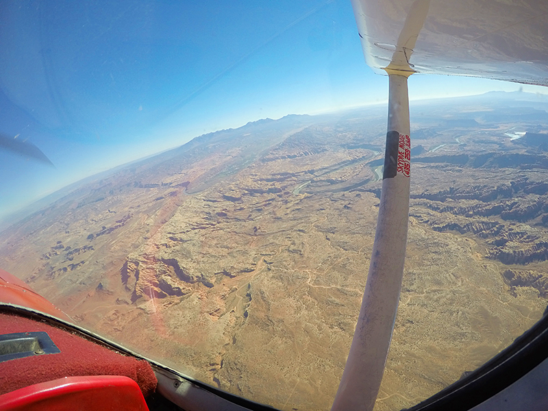 Skydive Moab, Utah taken by Southwest Discovered