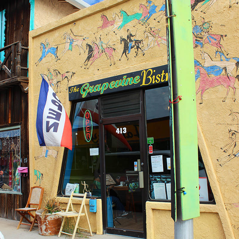 Grapevine Bistro, Truth or Consequences NM, taken by Southwest Discovered