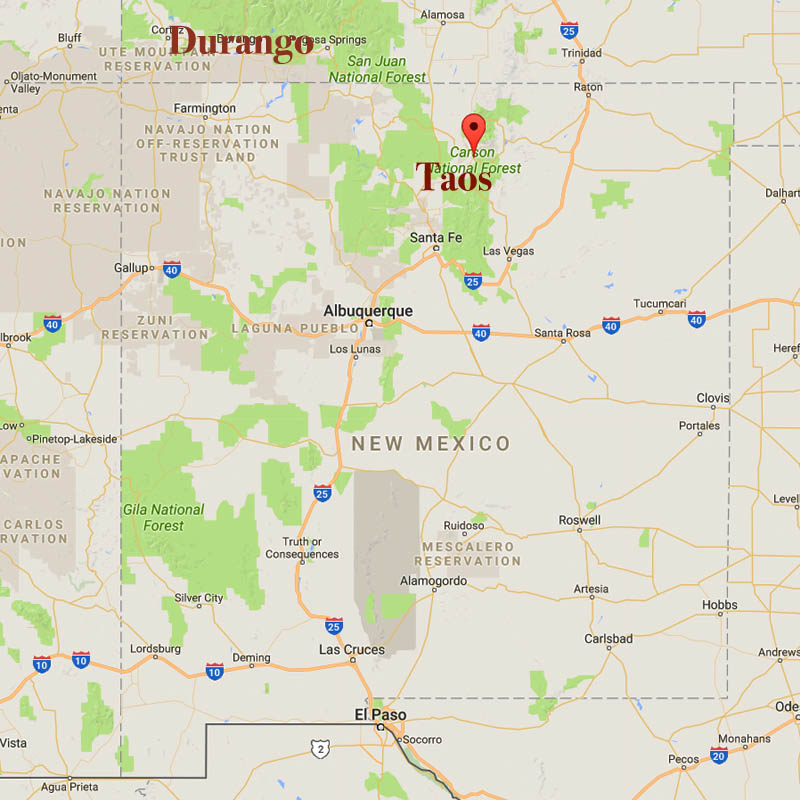 El Meze Of Taos Has Us Asking All Sorts Of Questions Southwest - Map of chefs in us