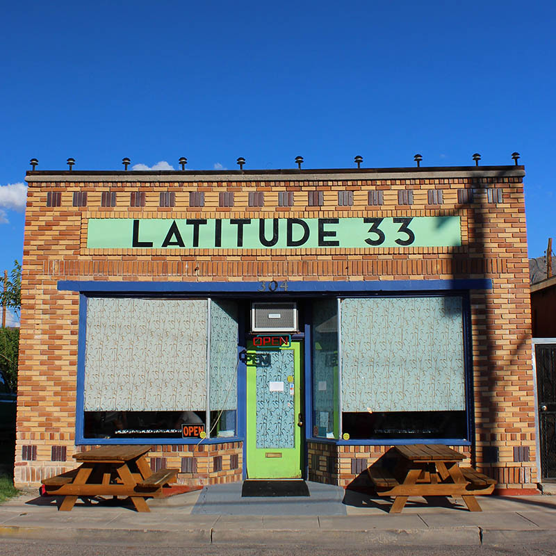 Latitude 33, Truth or Consequences NM, taken by Southwest Discovered