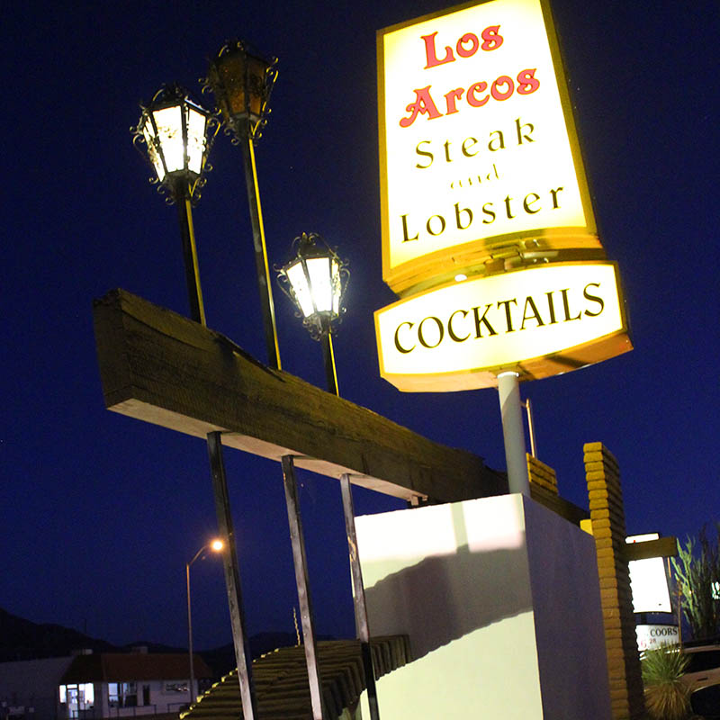 Los Arcos Steaks and Lobster, Truth or Consequences NM, taken by Southwest Discovered