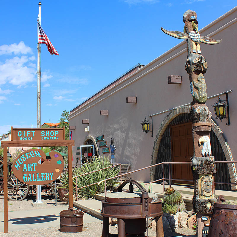 Geronimo Museum, Truth or Consequences NM, taken by Southwest Discovered