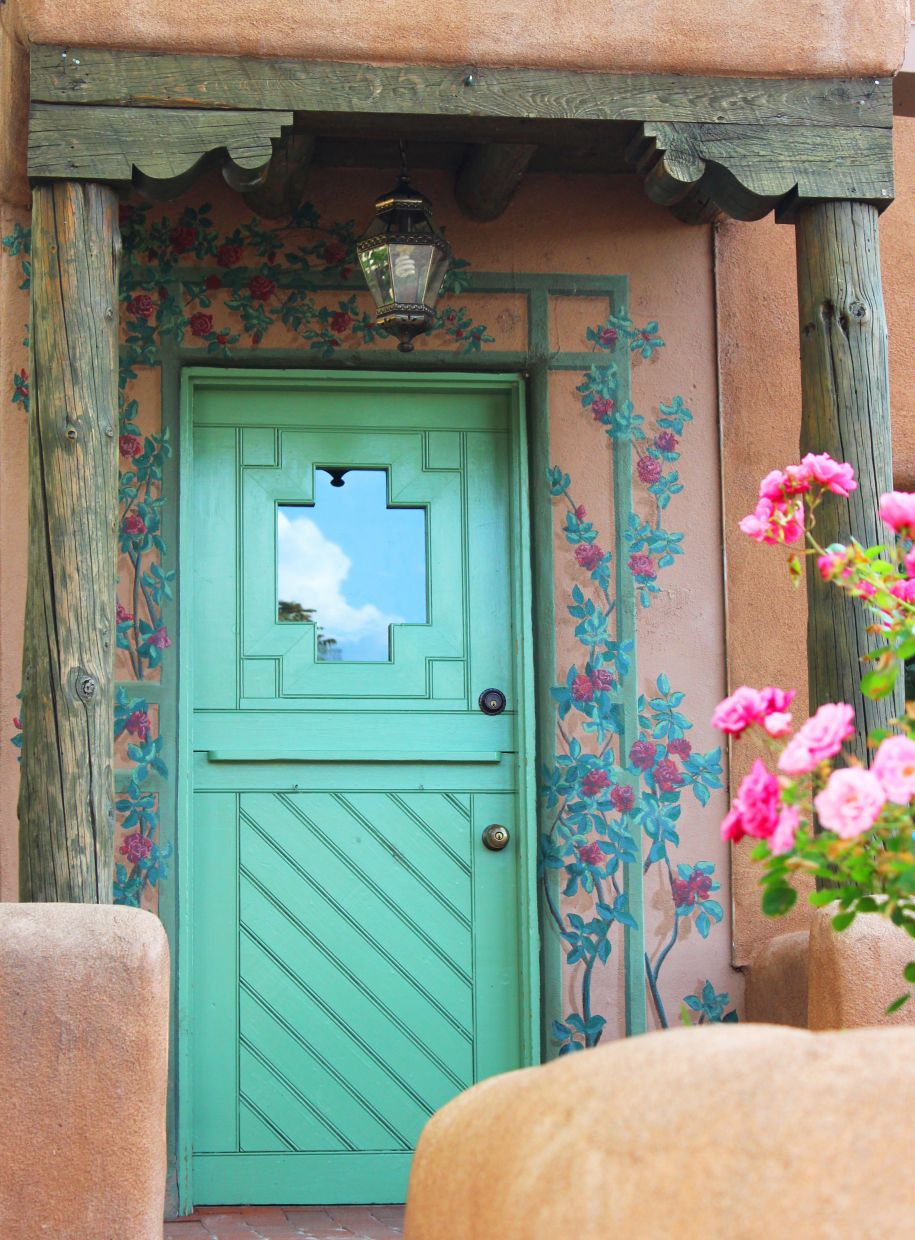Southwestern Decor Wooden Doors Southwest Discovered