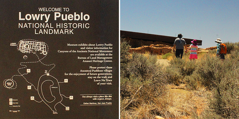 Lowry Pueblo Welcome Signage