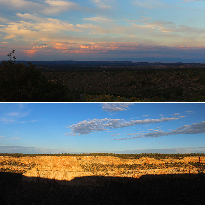 Mesa Verde Morning and Navajo Canyon
