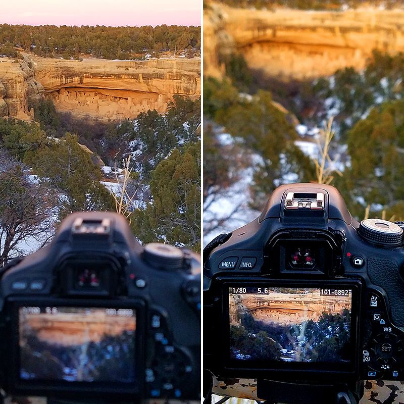 Camera and Cliff Palace