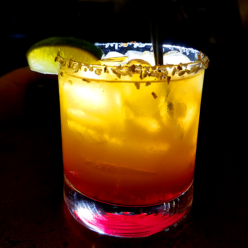 Oaxacan Sunrise drink